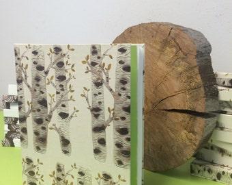 Handmade Birch Tree Sketchbook