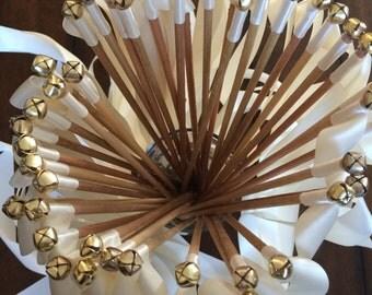 100 Wedding Ribbon Wands