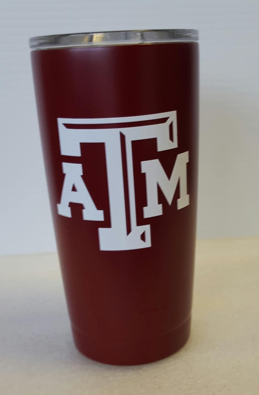 Texas Aggies 20oz Yeti Rambler Tumbler Personalized