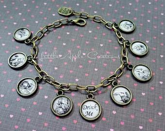 Alice in Wonderland Retro Bracelet (Free Shipping)