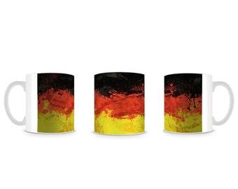 German Flag Germany Deutsch Flagge Mug M004