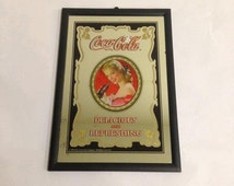 Unique Coca Cola Mirror Related Items Etsy