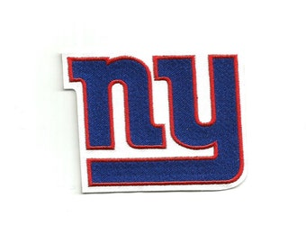 "NY New York Giants * 3.5"" inch * Embroidered * Iron / Sew on * Applique / Patch * FREE SHIPPING *"