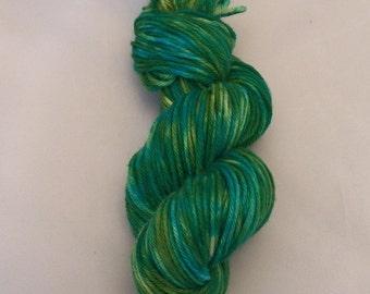 Oceanic Dreams- Merino Worsted Weight Yarn- Hand Dyed- OOAK