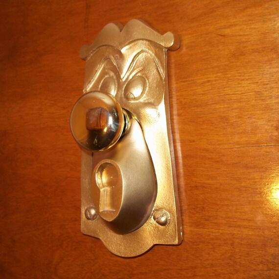 1 Alice In Wonderland Life Size Doorknob Face,Working Movie Prop ...