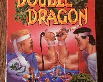 Double Dragon 1988 - RARE C64 Floppy Disk Game