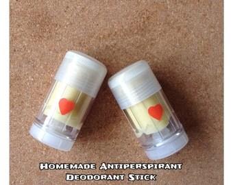 Natural Deodorant Organic Deodorant Aluminum Free All Natural Deodorant Stick Homemade Deodorant Chemical Free Handmade Deodorant