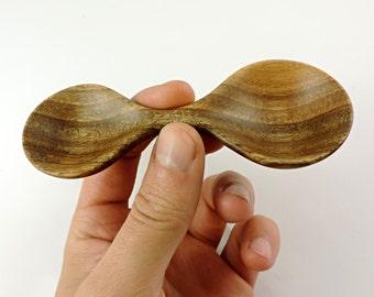 Wooden spoon, wood utensil, kitchen utensil, coffee scoop, measuring spoon, tablespoon, infinity