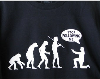 T-Shirt: The Evolution of Man