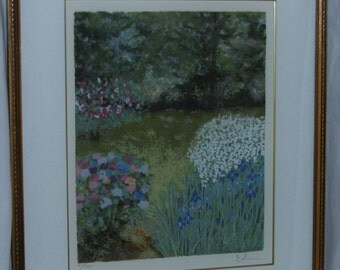 """FINAL SALE!! Limited Edition Serigraph """"Beyond The Gate"""" Eda Varricchio #207/750"""