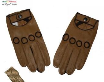 Men Leather Gloves (H172014)