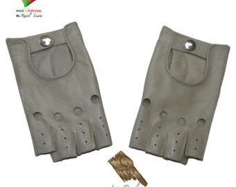 Ladies Leather Gloves (S182014)