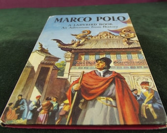 Vintage Ladybird book series 561 Marco Polo  marked  price 2'6