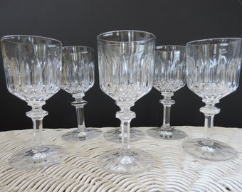 Crystal Cordial Glasses from von Marion of Germany Vintage