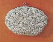 Vintage Crochet Shell Coin Purse Pattern
