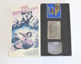 On Sale Vintage, The, Retrievers, VHS, Max, Thayer, Shawn, Hoskins, Martial, Arts, Kung-Fu, Action, Drama, Vestron, Video, 1985
