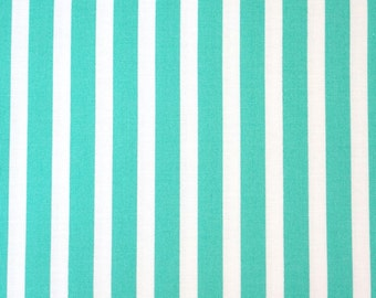 Windham Fabric Stripe Bright Basic - Aqua 29396-3