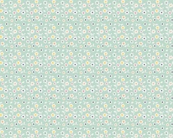 A Beautiful Thing Blue Floral - 1/2 Yard - Zoe Pearn for Riley Blake