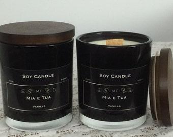 Soy Candle, Vanilla