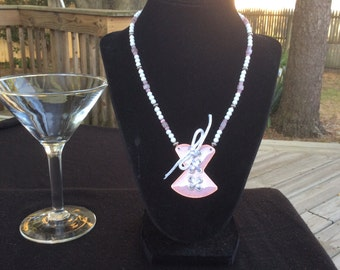Whimsical and Super Cute Corset Necklace.