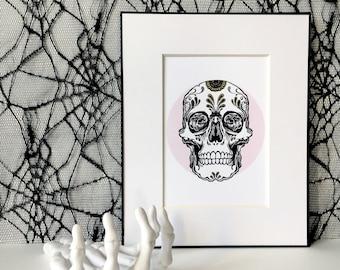 Sugar Skull 5x7 Art Print