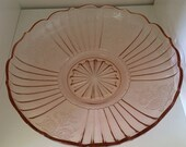 Low Bowl in Mayfair Open Rose - Pink by Anchor Hocking