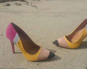 Pencil Shoe Pump (Tan) size 9 (clearance)