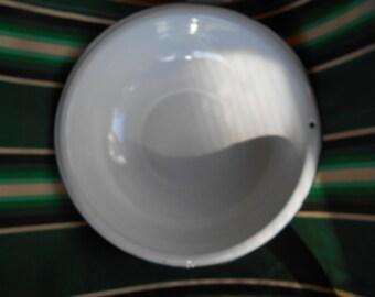 Vintage porcelain enamel ware washpan..
