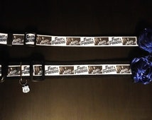 Fast and Furious Collar with Removable Bow Tie or Flower and Charm