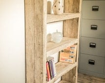 Reclaimed Chunky Bookcase - Solid pine 1, 2 or 3 Shelves