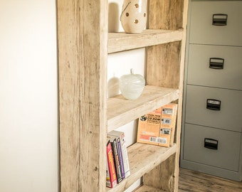 Reclaimed Chunky Bookcase -   2, 3,  4 or 5 Shelves