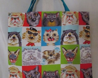 Children bag cool cats