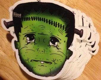 "Baby Frank, Stickers 3""x3"" - on sale"