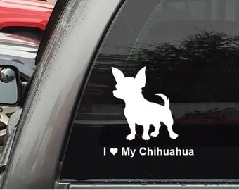 Download Chihuahua decal | Etsy
