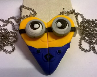 Couple Necklaces of Friendship Minions