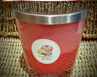300ml Jar - 100% Natural Soy  (Choose your Scent & Color) Made to Order