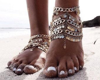 Sunne Dance Anklets