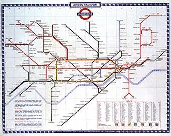 Cavallini London Underground Paper