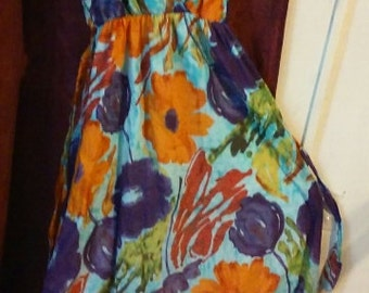 gorgeous colorful hippie sundress