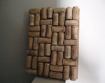wine cork trivet hot pad kitchen decor