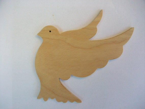 A set of 5 shape bird wooden cutouts for craft projects die for Wood cutouts for crafts