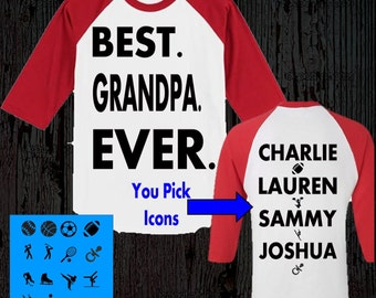 Grandpa Shirt - Grandpa Christmas Gift - Best Grandpa Shirt - Best Grandpa Gift