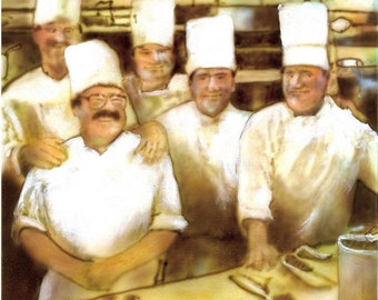 Chefs at Musso and Frank