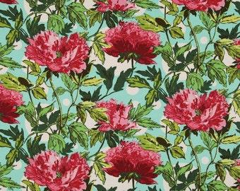 HALF METRE Amy Butler Soul Blossoms - Joy Twilight Peony in Amaranth