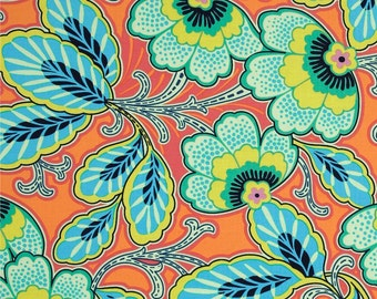 HALF METRE Amy Butler Lark - Glamour Floral Couture in Mandarin