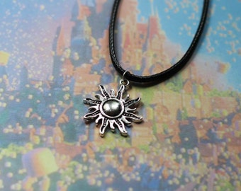 Tangled inspired sun Necklace