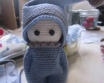 GUYON, Crochet Boy, Amigurumi Doll, Handmade Doll,