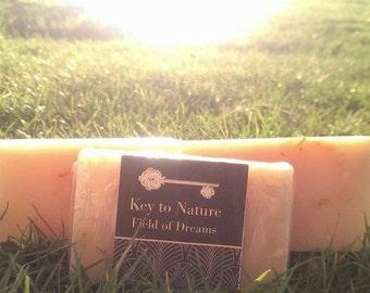 Organic Herbal Bar Soap Field of Dreams 4.2oz Vegan Free Shipping!