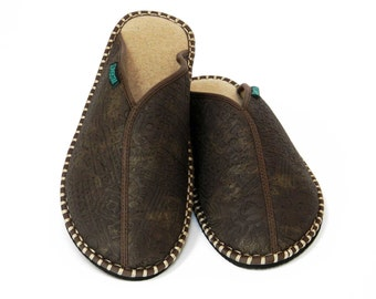 Men's Slipper Aztec