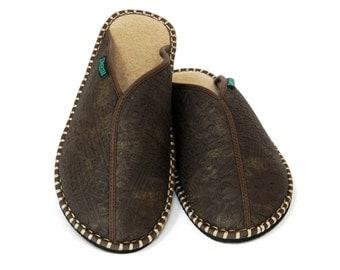 Men's Slipper Aztec